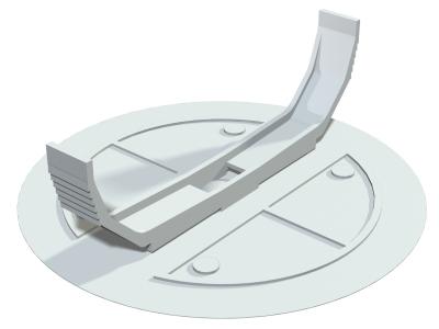 Крышка с распорными лапками, 80 мм — арт.: 2004634