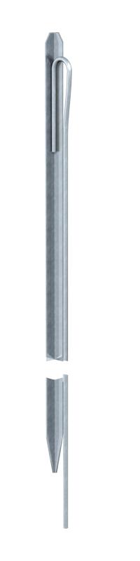 Профильный стержень заземления с круглым стальным проводником — арт.: 5003776