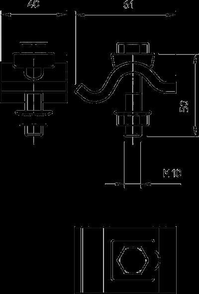 Схема Фиксатор TKS для малых нагрузок — арт.: 6355808