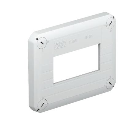 Крышка для распределительной коробки Т-100 со штампованным отверстием для розеток — арт.: 2007826