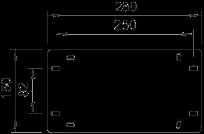Схема Монтажная пластина GP 15 — арт.: 6357008