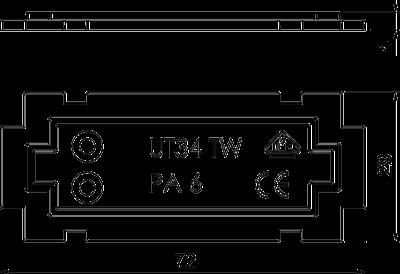 Схема Разделительная перегородка — арт.: 7408796