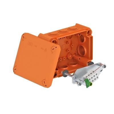 Огнестойкая распределительная коробка FireBox T-100 ED для телекоммуникационного кабеля, с внутренним креплением — арт.: 7205530