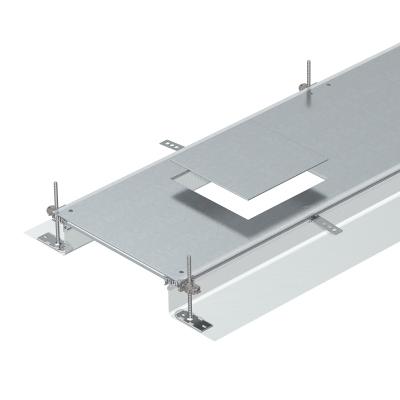 Секция кабельного канала с крышкой для лючка GES9, высота 40 — 140 мм — арт.: 7424200
