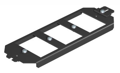 Монтажная рамка для телекоммуникационных модулей, системная длина 208 мм — арт.: 7407840