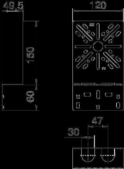 Схема Элемент для крепления к листовому лотку — арт.: 7084765