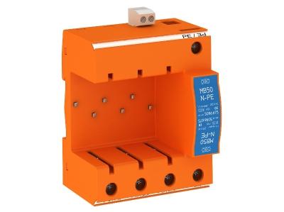 Основание комбинированного разрядника V50 с дистанционной сигнализацией — арт.: 5096677