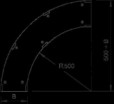 Схема Крышка угловой секции 90° — арт.: 6231462
