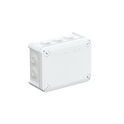 Распределительная коробка Т-100 со вставным уплотнителем, трудновоспламеняемая — арт.: 2007347