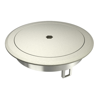 Лючок GES R2 с глухой крышкой, из литого цинка, никелированный — арт.: 7408870