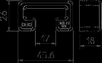 Схема Защитный колпачок MS 21 — арт.: 1122902