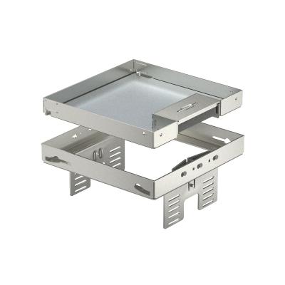 Регулируемая кассетная рамка RKSNUZD3 с кабельным выводом, из нержавеющей стали — арт.: 7409228
