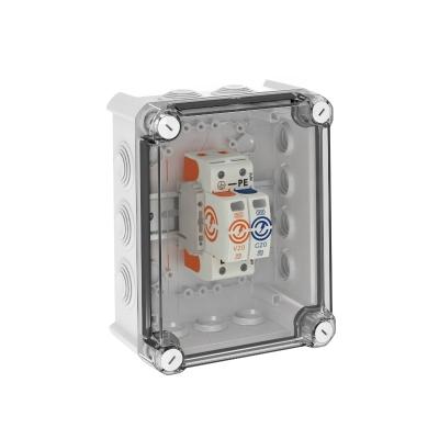Системное решение: разрядник для защиты от перенапряжений V20 в корпусе, 1-полюсный + NPE — арт.: 5095381