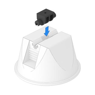Адаптер универсальный, для установки в держателе 165/MGB — арт.: 5218882
