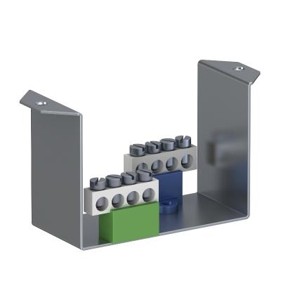 Суппорт с клеммной колодкой N и PE для монтажа защитного устройства в блоках питания VHF — арт.: 6109854