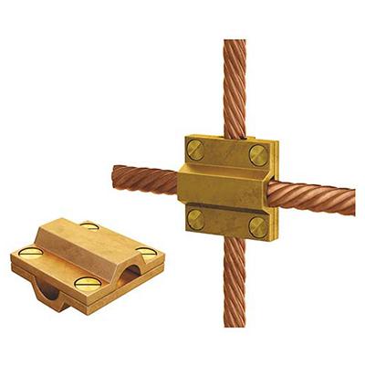 Зажим крестообразный для проводов