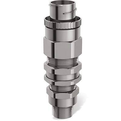 E1FCNF Взрывозащищенный кабельный ввод для армированного кабеля проложенного в гибком металлорукаве