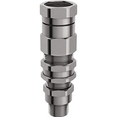 E1FPF Взрывозащищенный кабельный ввод для армированного кабеля проложенного в трубе, внутреняя резьба