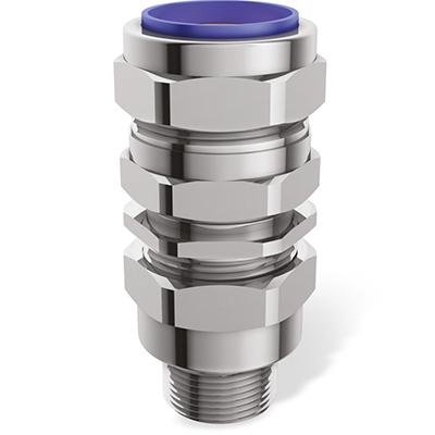 E1FUNV Взрывозащищенный универсальный кабельный ввод с двойным уплотнением для любого типа бронированных кабелей