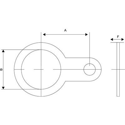 Схема Кольцо заземления для кабельных вводов