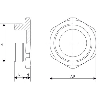 Схема Шестигранная заглушка