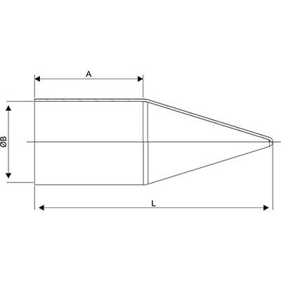 Схема Кожух для кабельного ввода