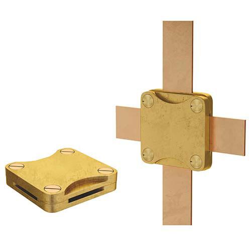 Зажим крестообразный для плоских проводников (квадратный)